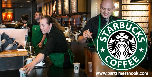 สมัครงานร้านกาแฟ Starbuck